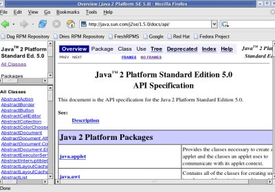 The Java API