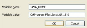 The Java Home Variable